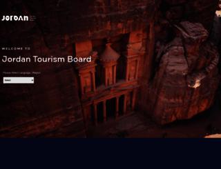 visitjordan.com screenshot