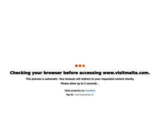 visitmalta.com screenshot
