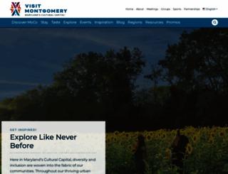 visitmontgomery.com screenshot