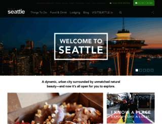 visitseattle.org screenshot