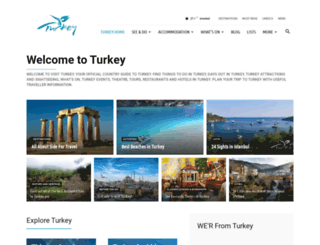 visitturkey.in screenshot