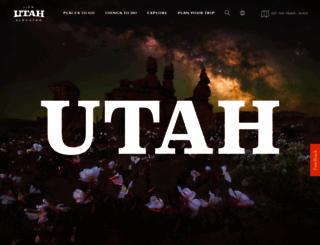 visitutah.com screenshot