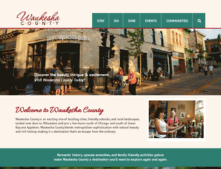 visitwaukeshacounty.com screenshot