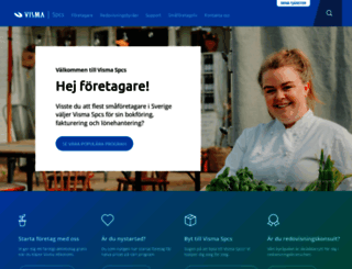 vismaspcs.se screenshot