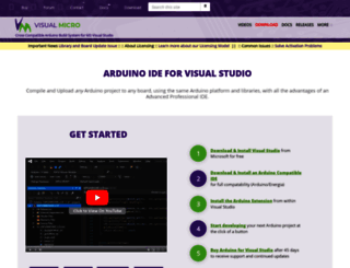 visualmicro.com screenshot
