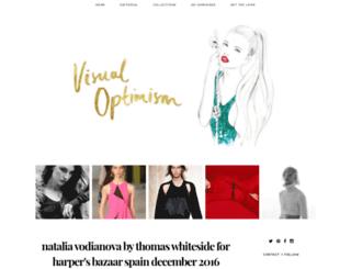 visualoptimism.blogspot.pt screenshot