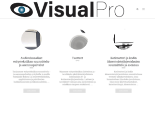 visualpro.fi screenshot