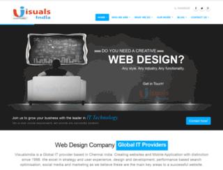 visualsindia.com screenshot