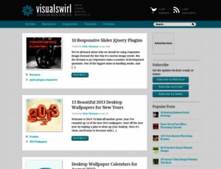 visualswirl.com screenshot