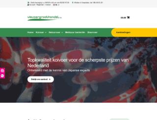 visvoergroothandel.nl screenshot