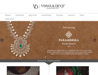 viswadevji.com screenshot
