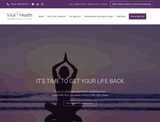 vitalhealth.com screenshot