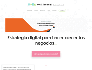vitalinnova.com screenshot
