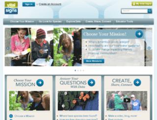 vitalsignsme.org screenshot