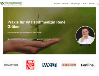 vitalstoffmedizin.com screenshot