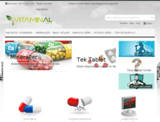 vitaminal.com.tr screenshot