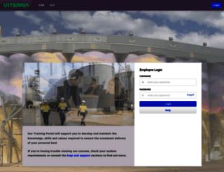 viterra.e3learning.com.au screenshot
