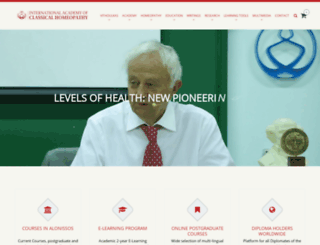 vithoulkas.com screenshot