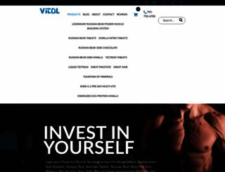 vitolproducts.net screenshot