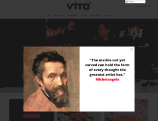 vitoproducts.com screenshot