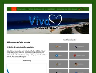 viva-lacosta.com screenshot