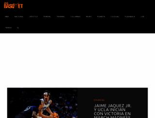 vivabasquet.com screenshot
