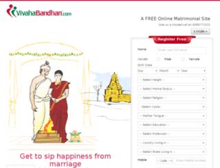 vivahabandhan.com screenshot