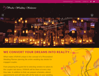 vivahaweddings.com screenshot