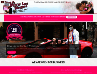 vivalasvegasweddings.com screenshot