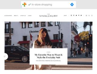 vivaluxury.blogspot.ca screenshot