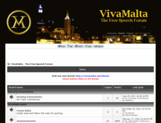 vivamalta.net screenshot