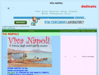 vivanapoli.forumup.it screenshot