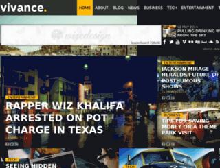 vivance.wizedesign.com screenshot