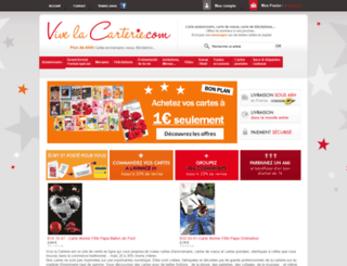 vive-la-carterie.com screenshot