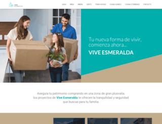 viveesmeralda.com screenshot