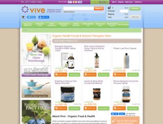vivehealth.com.au screenshot