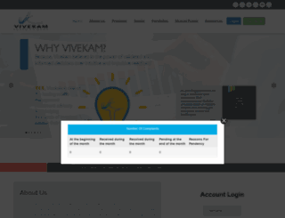 vivekam.co.in screenshot
