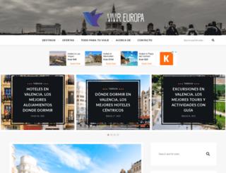 vivireuropa.com screenshot