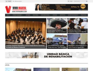 vivirmadera.com screenshot