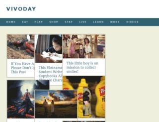 vivoday.com screenshot