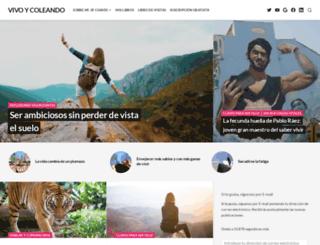 vivoycoleando.com screenshot