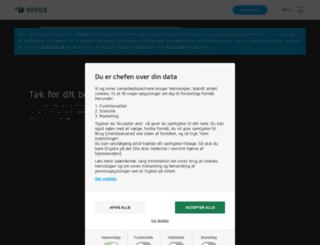 vivus.dk screenshot