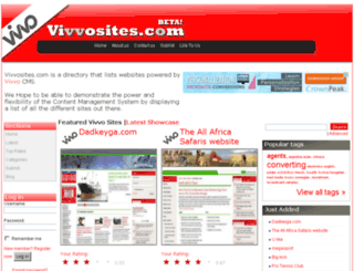vivvosites.com screenshot