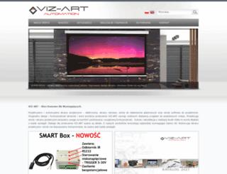 viz-art.pl screenshot