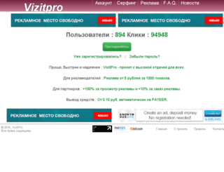 vizitpro.ru screenshot