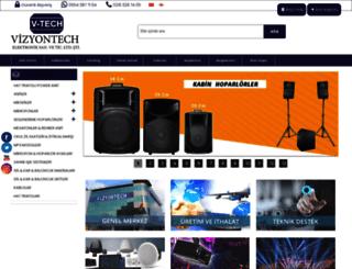 vizyontech.com screenshot