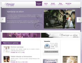 vjencanjesastilom.com screenshot