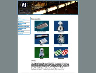 vjlightingfixture.com screenshot