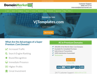 vjtemplates.com screenshot