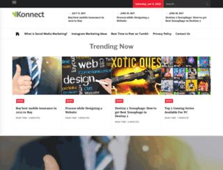 vkonnect.com screenshot